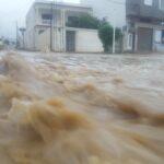 الهوارية: مياه الأمطار تغمر المنازل.. والأهالي يستغيثون