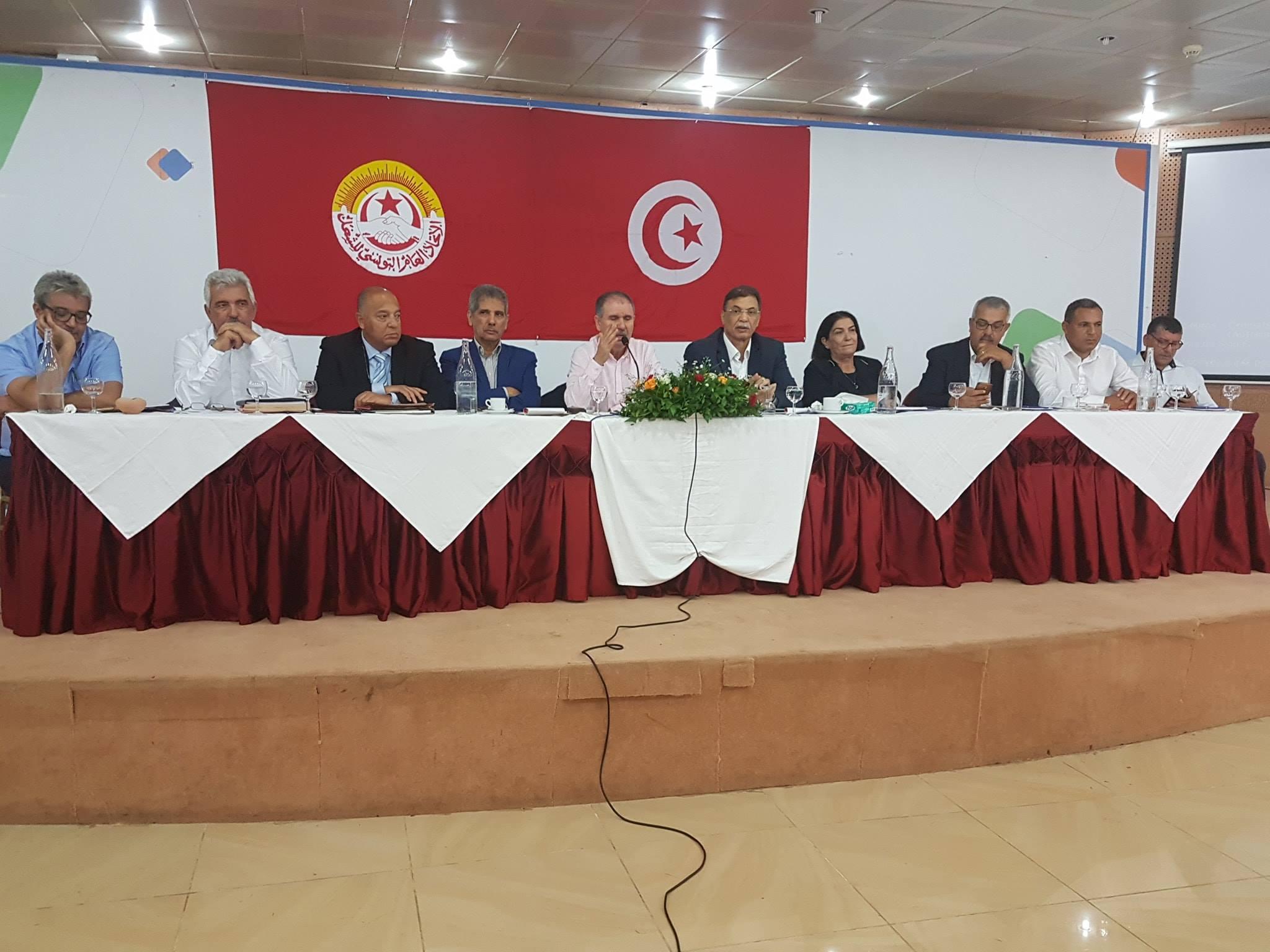 اتحاد الشغل: الهيئة الإدارية تتمسّك برحيل الشاهد وتنتقد النّهضة