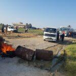صور/ القيروان: محتجّون يحجزون حافلتي نقل مدرسي ويغلقون الطّريق