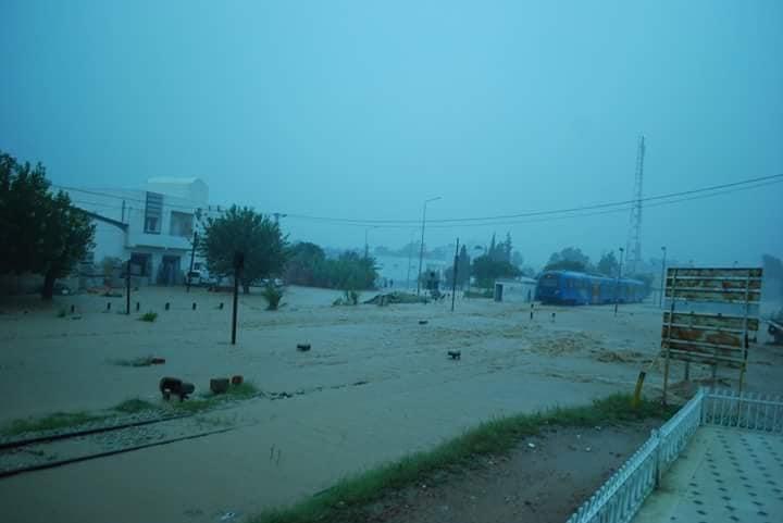 """""""الشيمينو"""": الأمطار ألحقت أضرارا فادحة بهذه السّكك"""