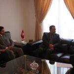 زياد العذاري يلتقي سفير قطر ومدير بالصندوق البريطاني لتمويل الصادرات