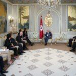 وزير الداخلية الإيطالي في قصر قرطاج