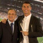 رئيس ريال مدريد يعتبر قرار التخلّي عن رونالدو صائبا