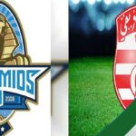 تشكيلة النادي الافريقي في مباراة بيراميدز