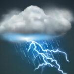 معهد الرصد الجوي : خلايا رعدية ..برَد وأمطار واليقظة مطلوبة