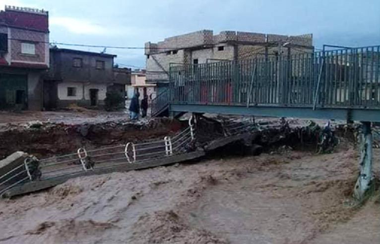 القصرين: تدابير عاجلة بعد الأمطار الطوفانية