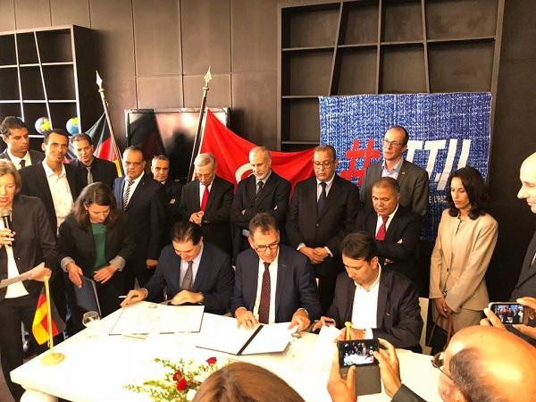 بين تونس وألمانيا: توقيع اتّفاقيتين في مجال النسيج والملابس