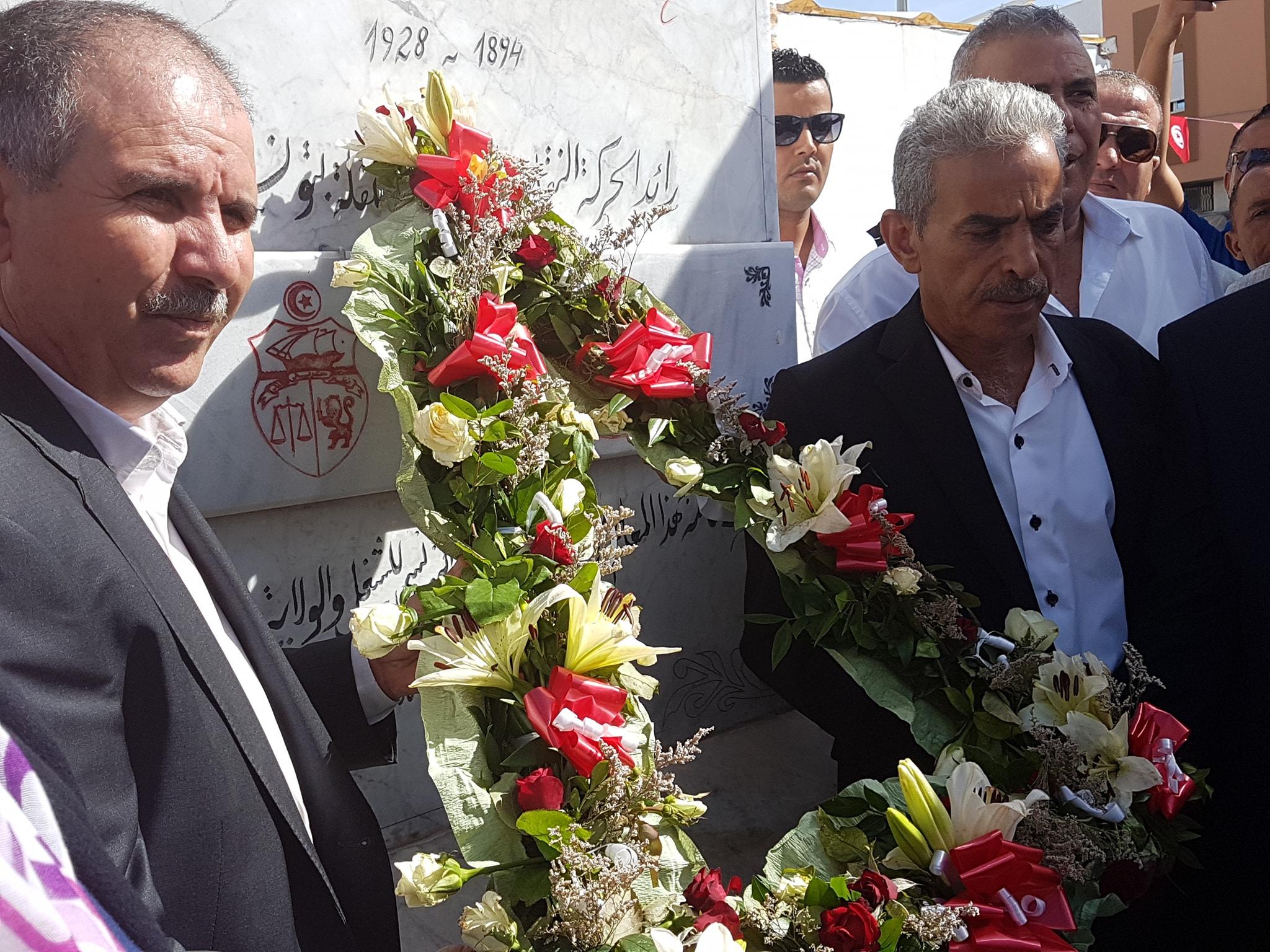 فيديو/ اتحاد الشغل يحيي الذّكرى 90 لرحيل محمد علي الحامّي
