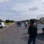 صور: محتجون يغلقون الطريق الرابطة بين بوحجلة وصفاقس