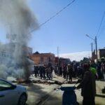 """فيديو/ سيدي بوزيد: أهالي """"سوق الجديد"""" يحتجّون ويُطالبون بتدخّل عاجل"""
