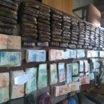 """صور/ قليبية: حجز 138 صفيحة """"زطلة"""" و61 ألف دينار لدى 5 أشخاص"""