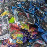 سوق سيدي بومنديل : حجز 80 ألف لعبة أطفال