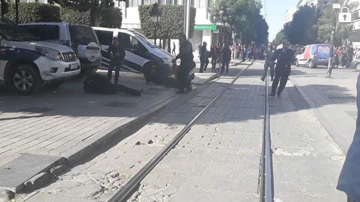 العاصمة: صور عن التفجير الانتحاري