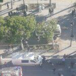 الأمنيون المصابون بشارع الحبيب بورقيبة : حالة خطيرة و7 إصابات خفيفة