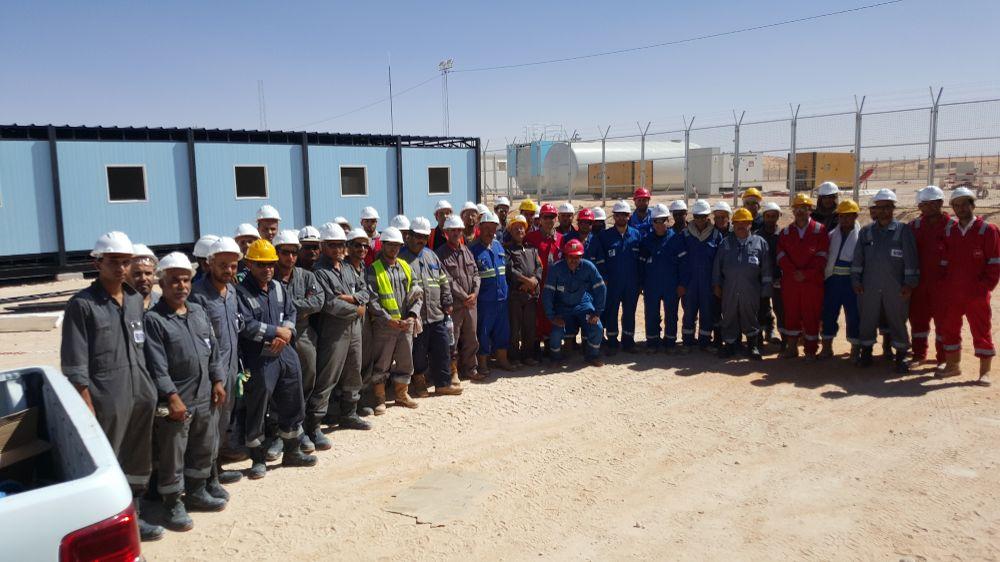 قابس : استئناف العمل بشركة OMV بعد تدخل اتحاد الشغل