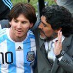 مارادونا ينصح ميسي بمقاطعة الأرجنتين