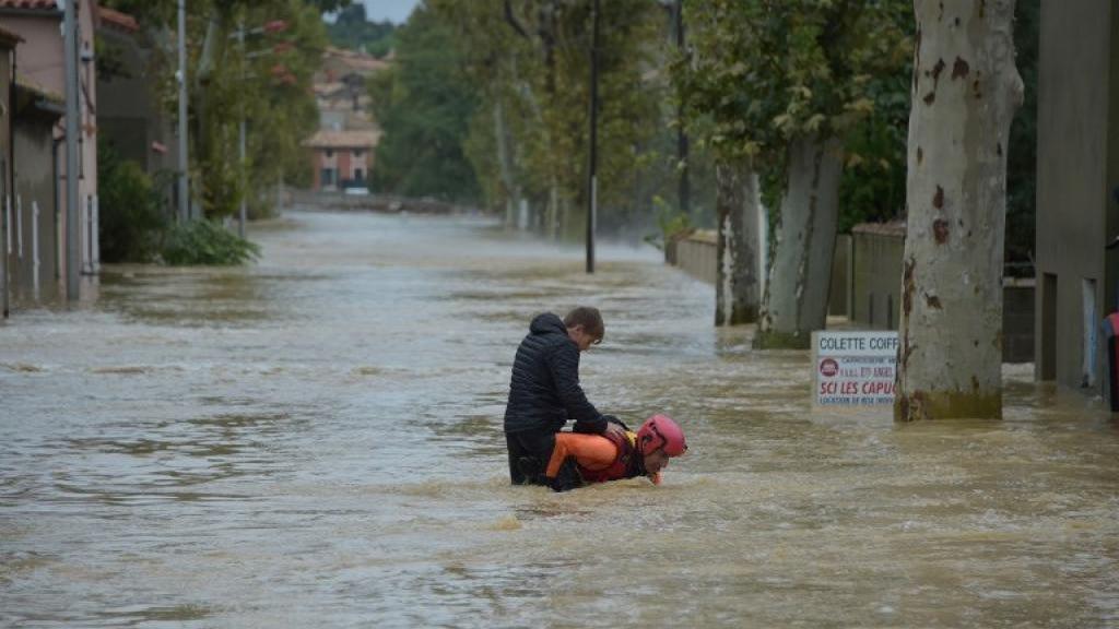 13 غريقا و50 مصابا في فيضانات جنوبي فرنسا