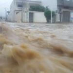 نابل: مياه الأمطار تجتاح بني خلاد.. ولجنة مجابهة الكوارث في انعقاد دائم
