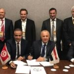 ندوة صحفية لتقديم اتفاقية التعاون التحكيمي بين تونس ومصر