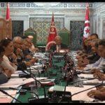 اجتماع لرؤساء الكتل قبل انتخاب أعضاء المحكمة الدستورية