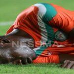 سهيل الشملي ينقذ لاعب منتخب النيجر من الموت