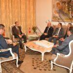 سفير تركيا في مكتب وزير الداخلية