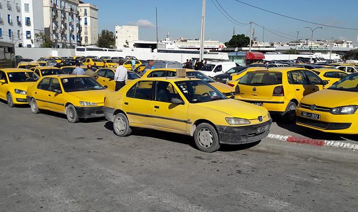 """نقابة التاكسي الفردي تدعو منظوريها إلى """"تحرّكات ميدانية"""""""