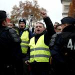 """فرنسا: إيقاف 130 متظاهرا من """"السترات الصفراء"""""""