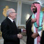منحه الصنف الأكبر من وسام الجمهورية: برقية شكر من وليّ العهد السعودي للباجي