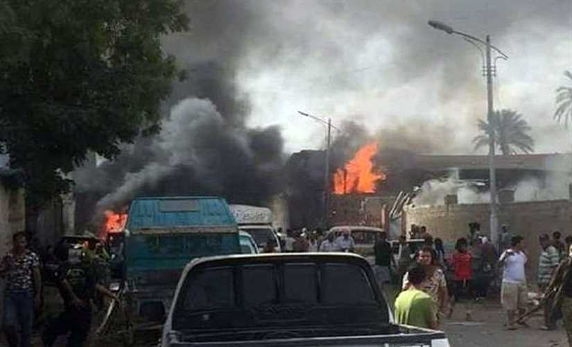 استُعمل فيه المحتجزون كدروع بشرية: 9 قتلى في هجوم إرهابي على مركز أمن بليبيا