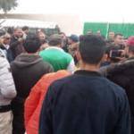 """""""ثورة جماهيرية"""" في سيدي بوزيد بسبب رئيس النادي"""