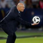 زيدان يرفض العودة إلى ريال مدريد