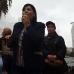 """في وقفة احتجاجية شعارها """"ديقاج"""": عبير موسي تُكيل الاتهامات للنهضة ولبن سدرين"""
