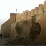القيروان: انهيار جزء من سور المدينة العتيقة