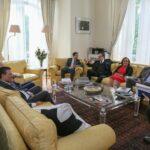 صور/ الغنوشي وقائد السبسي الابن عند رئيس وزراء إيطاليا