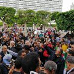فيديو/ العاصمة: احتجاجات على تعيين روني الطرابلسي وزيرا للسياحة