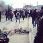 القصرين: مقتل شابّ في حضيرة بناء يُشعل احتجاحات العيون (صور)