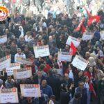 الإضراب العام: تجمّعات عمالية حاشدة بهذه الولايات (صور)