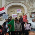 صور + فيديو: وقفة احتجاجية جديدة ضدّ زيارة محمد بن سلمان