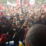 الإضراب العام/ أكثر من 30 ألفا شاركوا في تحرّك ساحة باردو (صور)