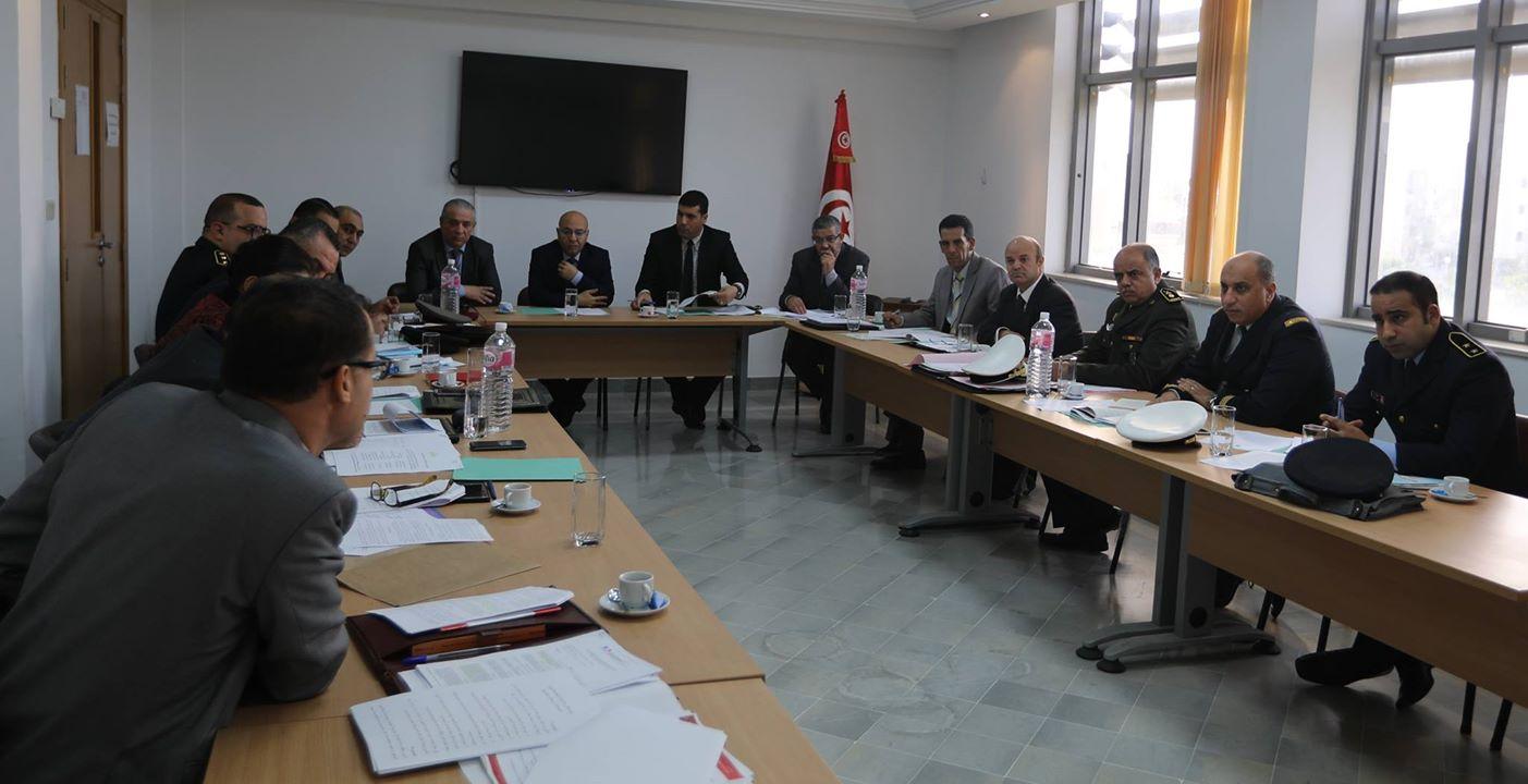 اجتماع رفيع المستوى حول مشروع قانون تنظيم حالة الطوارئ