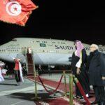 رئاسة الجمهورية تنشر صور استقبال الباجي وليّ العهد السعودي