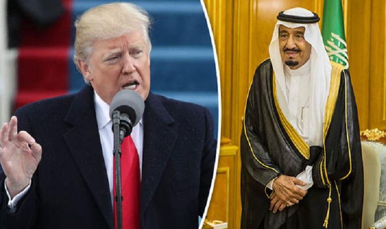 ترامب: لولا السعوديّة لواجهت إسرائيل تهديدا وُجوديّا