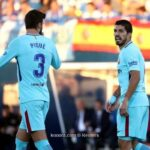 مناوشة بين نجمي برشلونة عقب الهزيمة أمام بيتيس