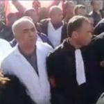 في مسيرة بقفصة : المحامون يلتحمون بالأساتذة