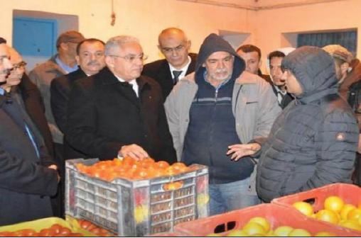 L'AGORA: وزير التجهيز والكركم