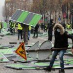 """باريس: انتشار أمني مُكثّف تأهّبا لمظاهرة """"السترات الصفراء"""""""