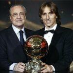 رئيس ريال مدريد : مودريتش أحقّ من رونالدو بالكرة الذهبية