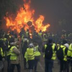 مظاهرات باريس: حرب شوارع في الشانزيليزي وعشرات الموقوفين والجرحى