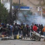 القصرين/ بعد تشييع جنازة عبد الرزاق الزرقي: تجدّد المواجهات بين الأمن والمحتجّين
